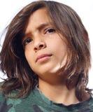 Boy Isolated on White Stock Images