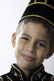 Boy in Java costume Stock Photography