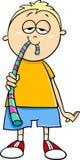 Boy with jelly candy cartoon Royalty Free Stock Photo