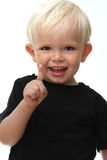 Boy  joy Stock Image