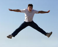 Free Boy Jumping Stock Photography - 154622