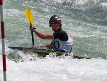 Boy on a Kayak Royalty Free Stock Photo