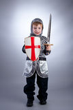 Boy Knight Stock Photo