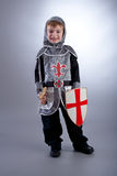 Boy Knight Royalty Free Stock Photos
