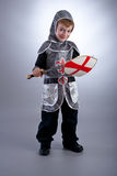 Boy Knight Stock Image