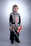Boy Knight Royalty Free Stock Photo