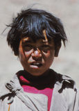 Boy in Ladakh, India Stock Photo