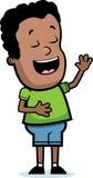 Boy Laughing Stock Image