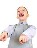 Boy Laughing Royalty Free Stock Photo