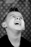 Boy laughing Royalty Free Stock Photos