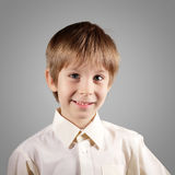 Boy little emotional attractive set make faces Stock Images