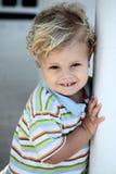 boy little playing Στοκ εικόνα με δικαίωμα ελεύθερης χρήσης