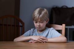 boy little shy Στοκ φωτογραφίες με δικαίωμα ελεύθερης χρήσης