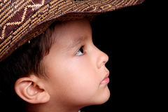 Boy looking Stock Photography