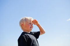 Boy looking Stock Photo