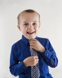 Boy looking sharp Stock Photography
