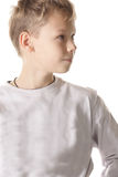 Boy looking side Royalty Free Stock Images