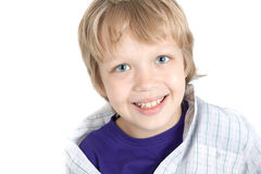 Boy looking to camera Royalty Free Stock Image