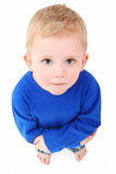 Boy Looking Up Royalty Free Stock Photo