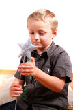 Boy With Magic Wand Stock Image