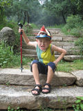 Boy Making a Face Royalty Free Stock Photos