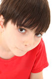 Boy Making No Talking Face Royalty Free Stock Photography