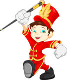 Boy marching band Royalty Free Stock Photos