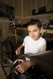 Boy Mechanic Royalty Free Stock Photos
