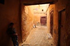 Boy in the medina Royalty Free Stock Photography