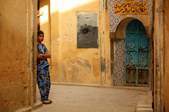 Boy in the medina Royalty Free Stock Photo
