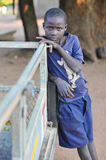 Boy from Mikuni Village, Zambia Stock Images