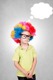 Boy mind Royalty Free Stock Images