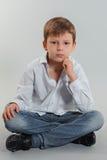 Boy model Royalty Free Stock Image
