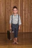Boy model in the studio Stock Photos