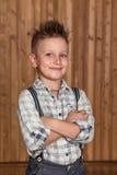 Boy model in the studio Stock Image