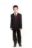 Boy in official dresscode Royalty Free Stock Images