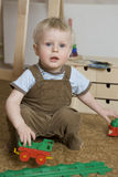 Boy one years old Royalty Free Stock Image