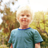 Boy outdoor Stock Image