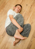 Boy in pain Stock Photos