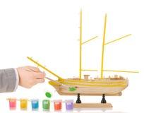 Model sailing ship Royalty Free Stock Photo