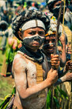Boy in Papua New Guinea Royalty Free Stock Image