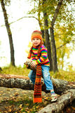 Boy in the park Stock Image