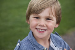 Boy in park Royalty Free Stock Photography