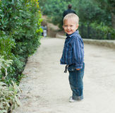 Boy in the park Royalty Free Stock Photography