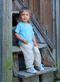 Boy in the park Royalty Free Stock Photos