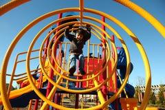 Boy at Park Stock Photos