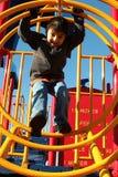 Boy at Park Royalty Free Stock Photo