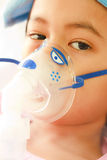Boy patient in hospital Stock Photo