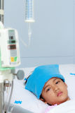 Boy patient in hospital Royalty Free Stock Photography