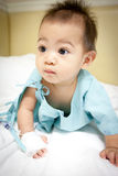 Boy patient in hospital Royalty Free Stock Photos